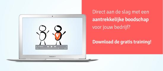 Direct aan de slag met een aantrekkelijke boodschap voor jouw bedrijf? _ Download de gratis training - Branding