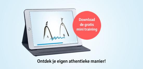 Ontdek je eigen athentieke manier - Download de gratis mini training met de BrandtoSucces formule