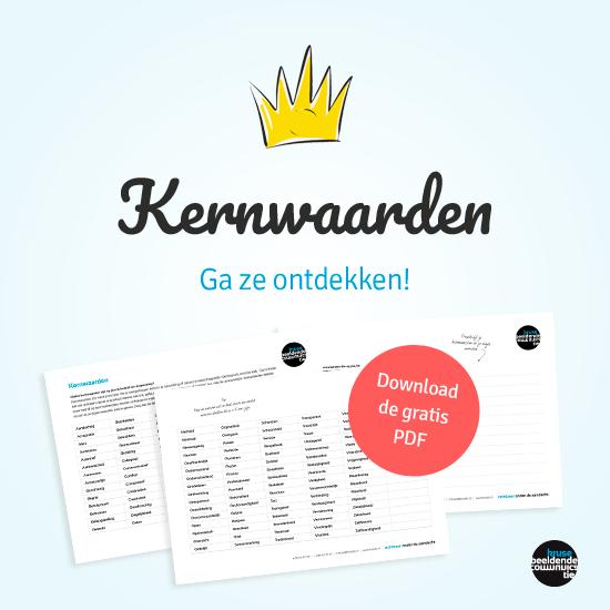 Ontdek je kernwaarden, download de gratis PDF